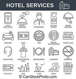 set., ホテル, アイコン