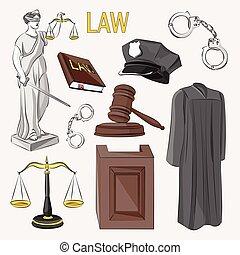 set., 法律, アイコン