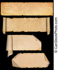 set., 羊皮紙