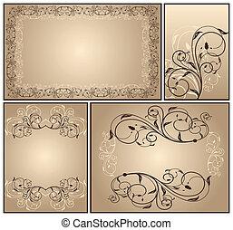 Set a decorative VINTAGE