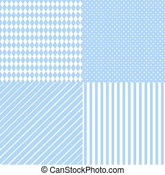 Set abstract retro pattern