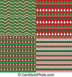 set, achtergronden, kerstmis