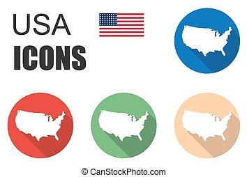 set america icons