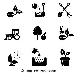 set aqriculture objects