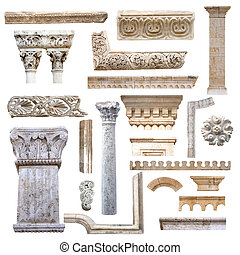 set, architettura, dettagli