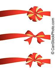 set., arcos, isolado, branco vermelho