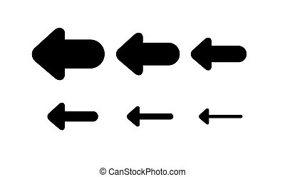 Set Arrows and directions signs back or left.
