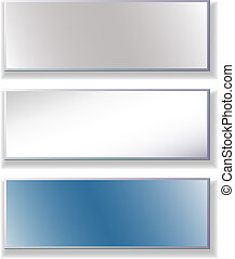Set banners - Set of advertising banners