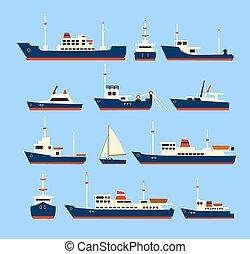 set., bateaux