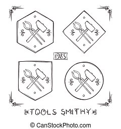 Set Blacksmith Labels