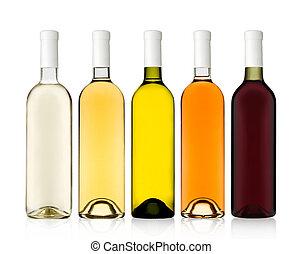 set bottles