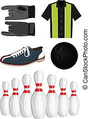 set, bowling
