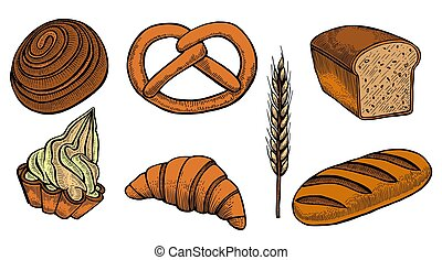 Set bread products