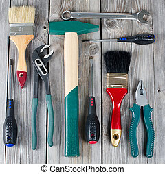 The set building tools on old boards