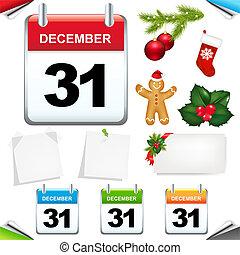 set, calendari