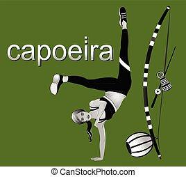 set, capoeira