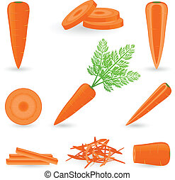 set, carota, icona