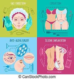 set, chirurgia plastica
