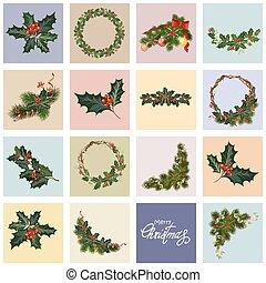 set christmas cards