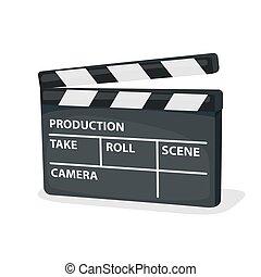 set, cinema, icone