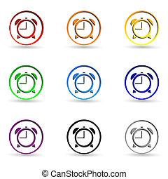 Set clock icons
