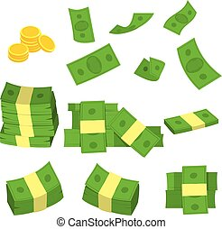 Set Collection Green Money
