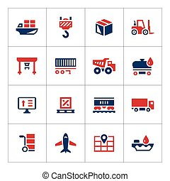 Set color icons of logistic