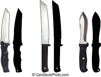 set, coltelli