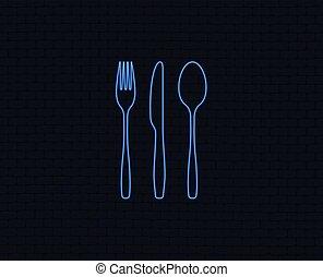 set., coltello, tablespoon., forchetta, coltelleria