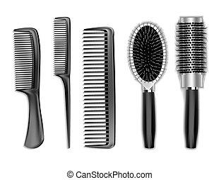set comb for hair