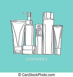 set, cosmetica