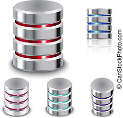 Set Database and Hard Disk Icon