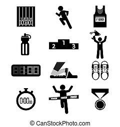 set., desporto, ícone