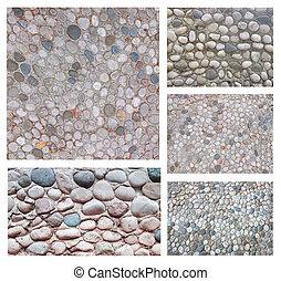 set, di, astratto, pietra, fondo