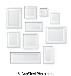 Decorativo cornice legno corteccia disegno cerca for Set cornici da parete