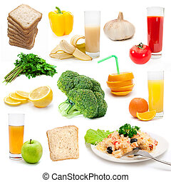 set, di, bio, cibo