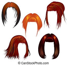 set, di, designazione capelli