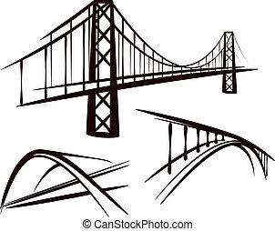 set, di, ponti