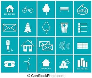 set, di, vettore, icone, di, il, ambiente
