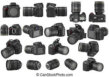 Set digital photo camera