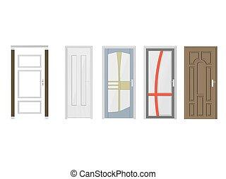 Set doors