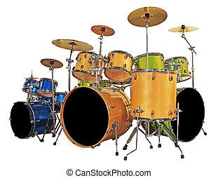 Set drums