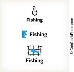 Set fish symbol