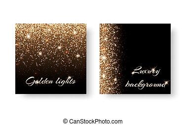 Set flash background - Set of backgrounds with festive...