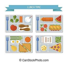 Set flat lunch