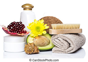 Set for massage or body care
