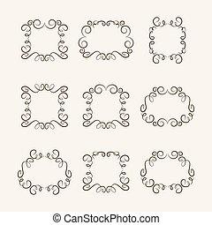 Set frames, vector