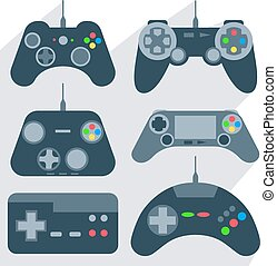 set, gamepad, icone