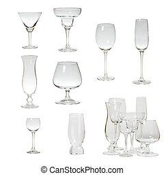 Set glassware isolated