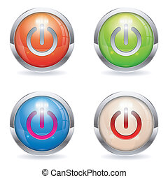 Set Gloss button with Switch
